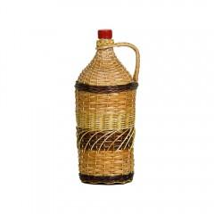 Бутылка «Виноград» 2л, в оплетке