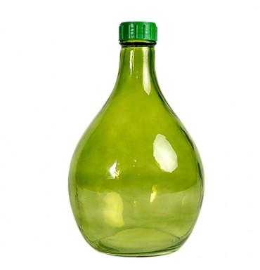 Бутыль Дамижанна, зеленая, 5 л